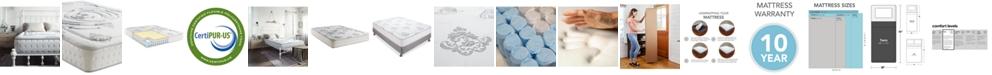 "Sleep Trends Rubi 10.5"" Wrapped Coil Hybrid Firm Pillow Top Mattress- Twin"