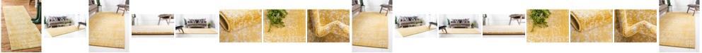 Bridgeport Home Wisdom Wis3 Yellow Area Rug Collection