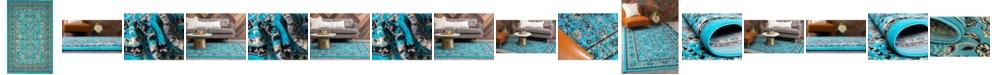 Bridgeport Home Arnav Arn1 Turquoise Area Rug Collection