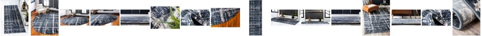 Jill Zarin Lexington Avenue Uptown Jzu003 Navy Blue Area Rug Collection