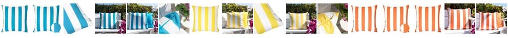 Homey Cozy Olivia Stripe Outdoor Pillow