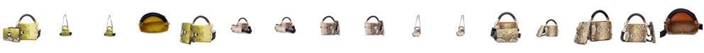 LIKE DREAMS Snakeskin Crossbody Handbag Set