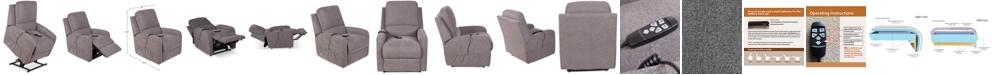Furniture Karwin Fabric Power Lift Reclining Chair