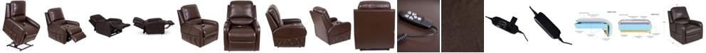 Furniture Karwin Leather Power Lift Reclining Chair