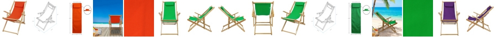 Yu Shan Sling Chair Natural Frame