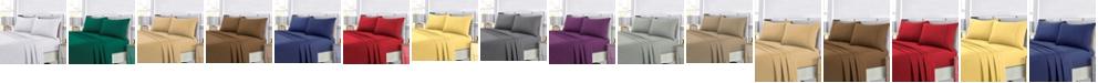 Tribeca Living Super Soft Solid DP Easy-Care Extra Deep Pocket Twin Sheet Set