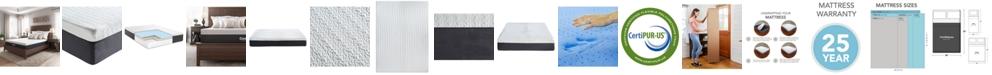 "Sleep Trends Ladan 12"" Cool Gel Memory Foam Plush Mattress- Full"