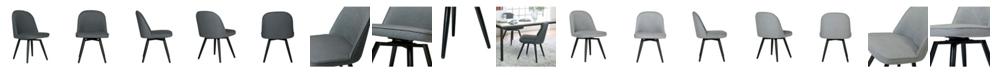 Studio Designs Home Dome Armless Swivel Chair
