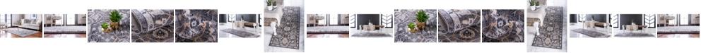 Bridgeport Home Wisdom Wis1 Gray Area Rug Collection