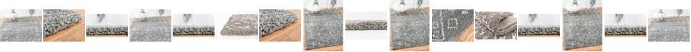 Bridgeport Home Fazil Shag Faz1 Gray Collection