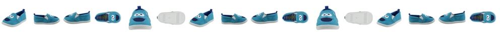 Sesame Street Cookie Monster Toddler Boy and Girl Slip-on Shoe