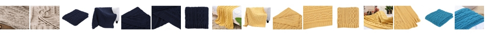 Happycare Textiles Knitted Luxury Chenille Throw Blanket