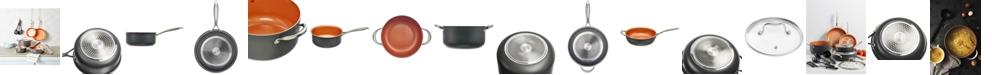 Crux 12-Pc. Copper Titanium Cookware Set, Created for Macy's