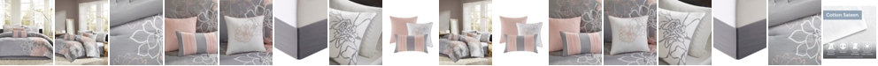 Madison Park Lola Cotton 7-Pc. King Comforter Set