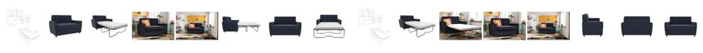 Novogratz Collection Novogratz Brittany Sleeper Sofa with Memory Foam Mattress