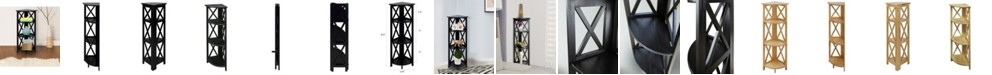 Yu Shan Montego 4 - Shelf Corner Folding Bookcase