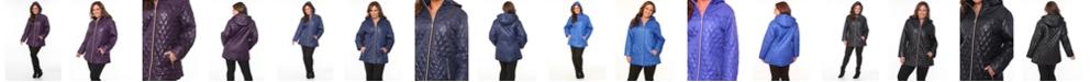 White Mark Plus Women's Puffer Coat