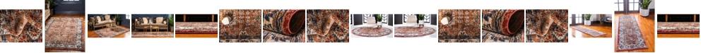 Bridgeport Home Shangri Shg2 Terracotta Area Rug Collection