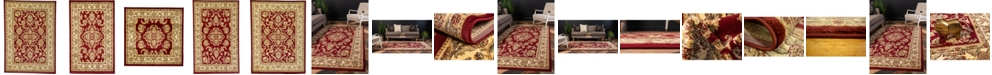 Bridgeport Home Passage Psg5 Red Area Rug Collection