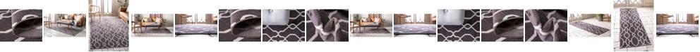 Bridgeport Home Pashio Pas8 Dark Gray Area Rug Collection