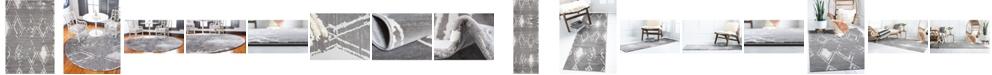 Jill Zarin  Carnegie Hill Uptown Jzu006 Gray Area Rug Collection