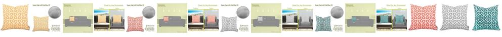 """Majestic Home Goods Aruba Decorative Throw Pillow Extra Large 24"""" x 24"""""""