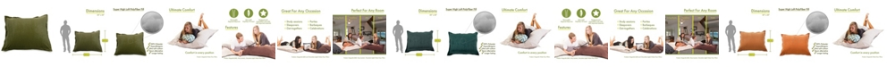 """Majestic Home Goods Villa Comfortable Soft Floor Pillow Extra Large 54"""" x 22"""""""