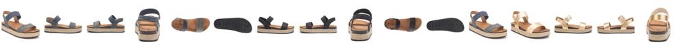 Olivia Miller Women's Let's Go Platform Sandals