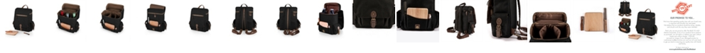 Picnic Time Legacy® by Black Moreno 3-Bottle Wine & Cheese Tote