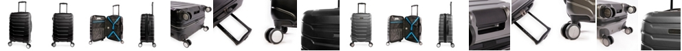 """Perry Ellis Traction 21"""" Spinner Luggage"""