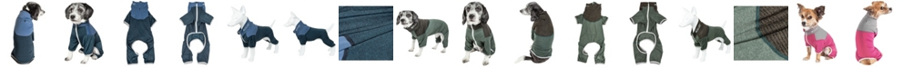 Pet Life Central Pet Life Active 'Embarker' Performance Two Toned Full Body Warm Up