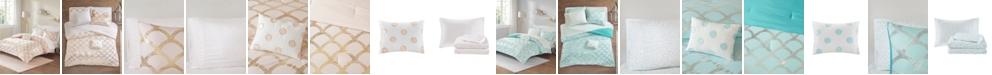 JLA Home Intelligent Design Lorna Twin XL 6 Piece Comforter and Sheet Set
