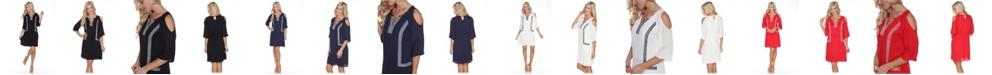White Mark Women's Marybeth Dress
