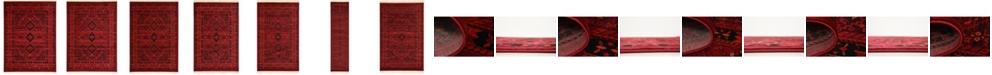 Bridgeport Home Vivaan Viv1 Red Area Rug Collection