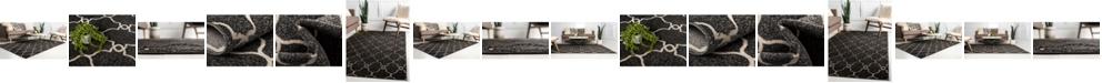 Bridgeport Home Pashio Pas2 Black Area Rug Collection