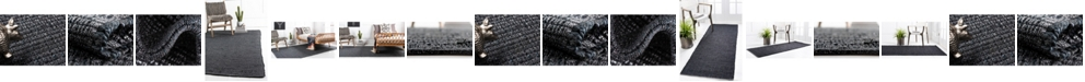 Bridgeport Home Prisma Jute Prs1 Dark Gray Area Rug Collection