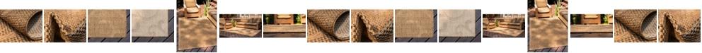 Bridgeport Home Pashio Pas7 Brown Area Rug Collection