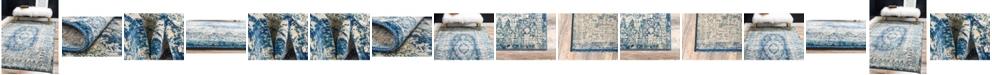 Bridgeport Home Masha Mas5 Navy Blue Area Rug Collection