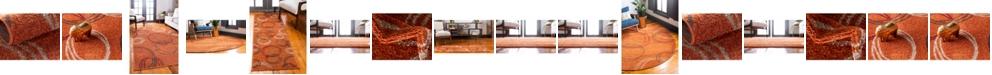 Bridgeport Home Jasia Jas05 Terracotta Area Rug Collection