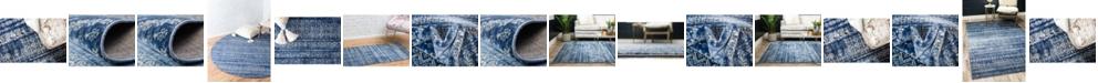 Bridgeport Home Haven Hav2 Navy Blue Area Rug Collection
