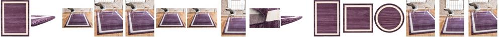 Bridgeport Home Lyon Lyo5 Violet Area Rug Collection