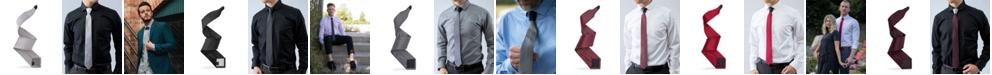 Modern Tie Men's Solid Net Weave Slim Single Tie