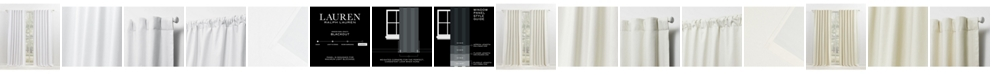 Lauren Ralph Lauren Waller Blackout Solid Tab/Rod Pocket Curtain Panel Collection