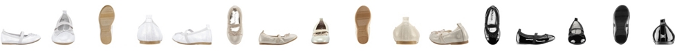 Nina Esther-T Toddler, Little Kid and Big Kid Girls Fashion Ballet Flat with Elestic Strap