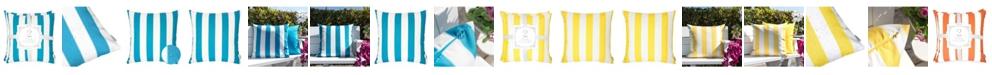 Homey Cozy Olivia Stripe Outdoor Pillow - Set of 2