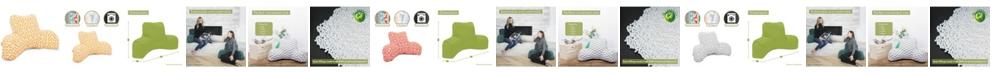 "Majestic Home Goods Aruba Comfortable Soft Reading Pillow 33"" x 18"""