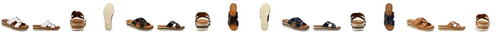 Baretraps Bliss Posture Plus+ Slip-on Wedge Sandals