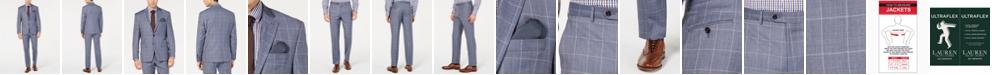 Lauren Ralph Lauren Windowpane UltraFlex Classic-Fit Suit Separates