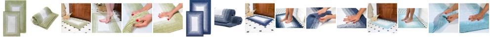 Chesapeake Whitney Ombre Reversible Bath Rug