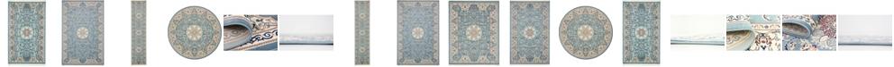 Bridgeport Home Zara Zar5 Blue Area Rug Collection